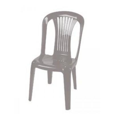 Καρέκλα πλαστική POSIDON  Λευκή (0073) έπιπλα κήπου-βεράντας