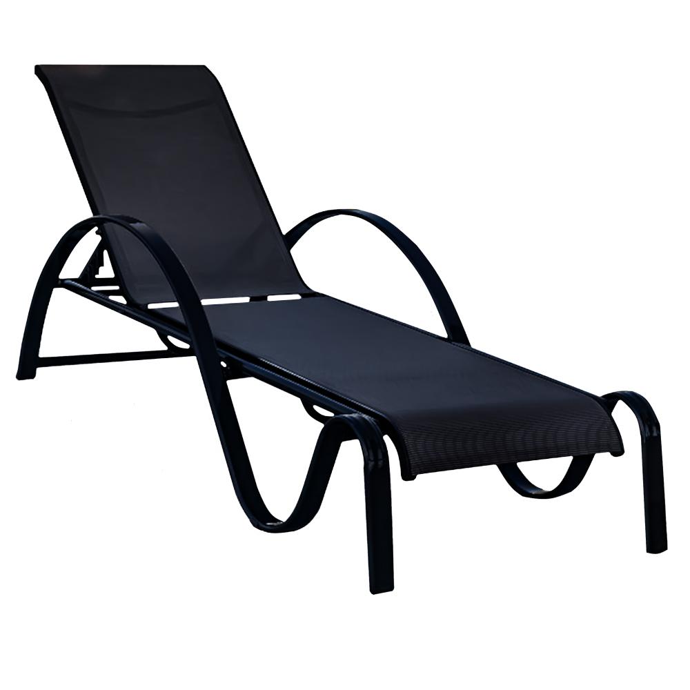 Επαγγελματική Ξαπλώστρα Comfort - Μαύρο - ph40