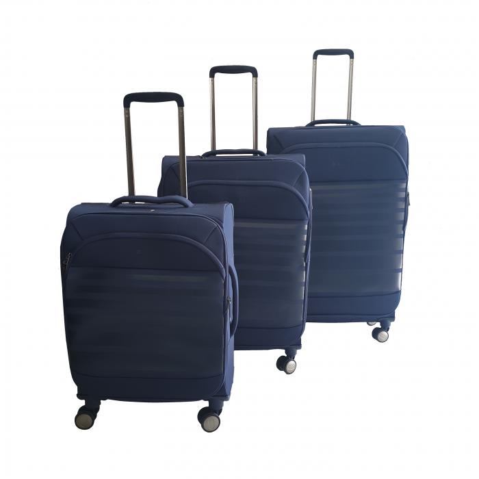 Σετ 3 Βαλίτσες Ταξιδιού σε Μπλε χρώμα - ph63 ΕΙΔΗ ΣΠΙΤΙΟΥ / ΚΗΠΟΥ