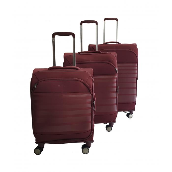 Σετ 3 Βαλίτσες Ταξιδιού σε Κόκκινο χρώμα - ph64 ΕΙΔΗ ΣΠΙΤΙΟΥ / ΚΗΠΟΥ