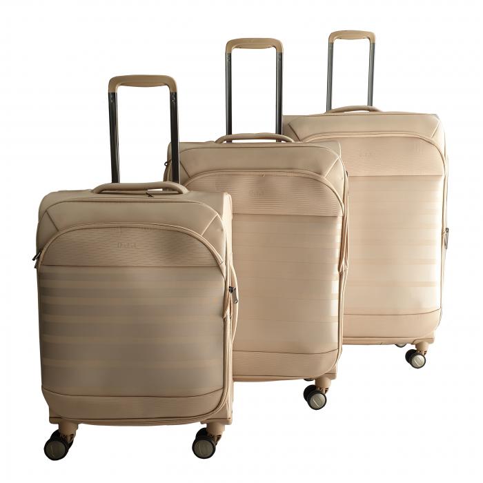 Σετ 3 Βαλίτσες Ταξιδιού σε Ροζ χρώμα - ph62 ΕΙΔΗ ΣΠΙΤΙΟΥ / ΚΗΠΟΥ