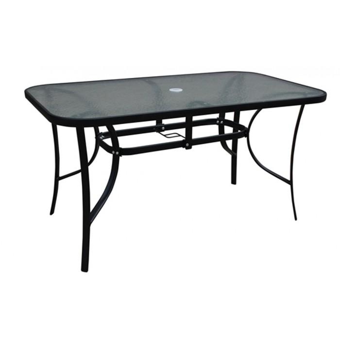 Τραπέζι Vienna 180x90cm ΓΚΡΙ ΣΚΟΥΡΟ- μεταλλικό  / Επιπλα κήπου-Βεράντας Έπιπλα Κήπου